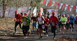 Çekmeköy'de 45 km kış ultramaratonu yapıldı