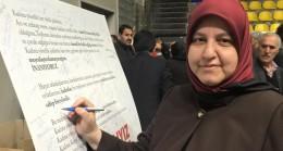 İffet Polat, il kadın kollarının yeni başkanı