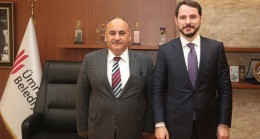 Berat Albayrak'tan Başkan Can'a ziyaret