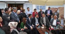 Başkan Temurci Kadıköy SKM'de