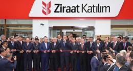 Cumhurbaşkanı Erdoğan, Ziraat Katılım Bankası'nın ilk şubesini açtı