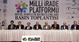 Teröre karşıyız, büyük Türkiye'nin yanındayız!