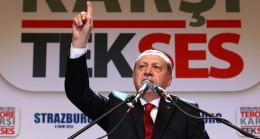 Cumhurbaşkanı Erdoğan'dan kararlı bir konuşma