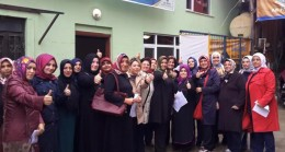 Beykoz'da kadın kollarının özverisi