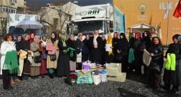 Üsküdarlı AK Kadınlardan Ensar bir duruş