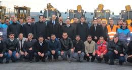 Ümraniye Belediyesi kar yağışına hazır
