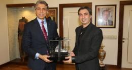 Necati Şaşmaz'dan Başkan Mustafa Demir'e ziyaret