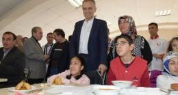 Çekmeköy'de engelsiz yemek yarışması