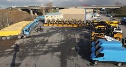 İSKİ'ye 40 yeni iş makinesi