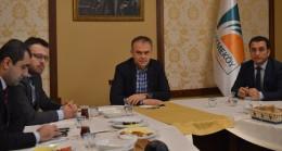 Ahmet Poyraz yerel basını ağırladı