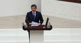"""Başbakan Davutoğlu, """"Ben bu görevi efsane kurucu liderden devraldım"""""""