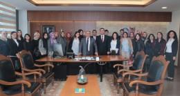 Ümraniye'nin yeni öğretmenlerinden Başkan Can'a ziyaret