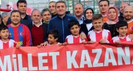AK Parti İstanbul ilçe teşkilatlarının futbol heyecanı