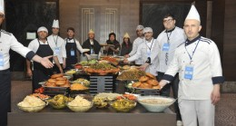 Kahramanmaraş, 121 çeşit yemeği ile İstanbul'a adeta çıkarma yaptı