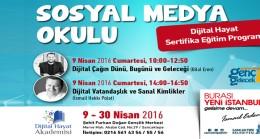 Sancaktepe'de sosyal medya okulu..