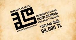 Çekmeköy Belediyesi'nin 'Merhamet ve Adalet' konulu 20 filmi
