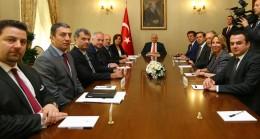 TUSİAD heyeti Başbakan Yıldırım'ın huzurunda