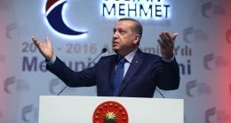 """Cumhurbaşkanı Erdoğan, """"Bizde millete gideceğiz"""""""