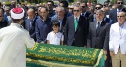Cumhurbaşkanı Erdoğan, Karaalioğlu'nun cenazesine katıldı