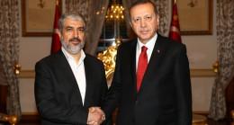Cumhurbaşkanı Erdoğan, Meşal'i kabul etti