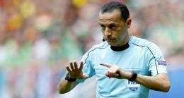 Cüneyt Çakır İspanya-İtalya maçında