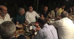 AK Parti Erzincan Milletvekili Av. Serkan Bayram, sofrasını basınla paylaştı