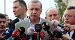 """Cumhurbaşkanı Erdoğan, """"Zulme evet dememiz mümkün değil"""""""