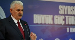 """Başbakan Yıldırım, """"AK Parti 81 vilayetle barışık hale geldi"""""""