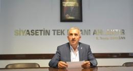 AK Parti'de örnek olacak istifa