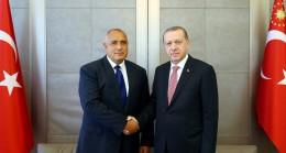 Cumhurbaşkanı Erdoğan Borisov görüşmesi