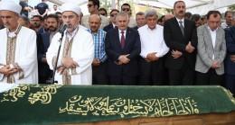 Başbakan Yıldırım, Bakan Işık'ın annesinin cenazesinde