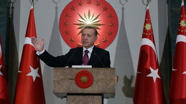 Cumhurbaşkanı Erdoğan'dan Metin Külünk'e destek