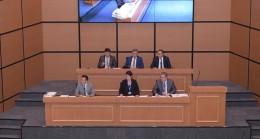 Üsküdar Belediyesi yeni Meclis Salonu'nda ilk toplantı