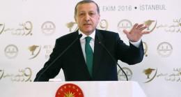 """Cumhurbaşkanı Erdoğan, """"İzin almaya ihtiyacımız yok, almayı da düşünmüyoruz"""""""