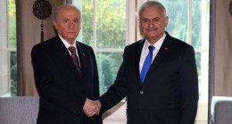 Başbakan Yıldırım ile Bahçeli buluştu