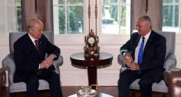 Başbakan Yıldırım, Bahçeli görüşmesi ile ilgili açıklama