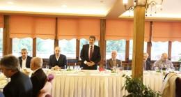 """Başkan Mehmet Tevfik Göksu, """"Sakın konutlarınızı satmayın"""""""
