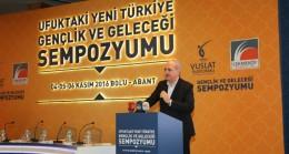 Çekmeköy, 'Ufuktaki Yeni Türkiye Gençlik ve Geleceği'ni konuştu