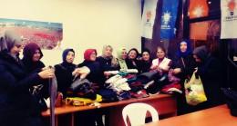 Kartallı AK Kadınlar Halep'e yardım elini uzattı