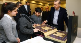 Cumhurbaşkanı Erdoğan, Üsküdar'da ki Şehit ailelerine ziyaret etti