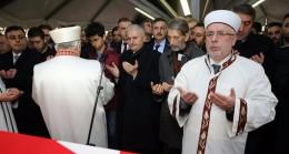 Başbakan Yıldırım, Kadıköy Şehidinin cenazesine katıldı