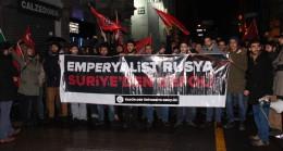 Özgür-Der Rusya'yı protesto etti