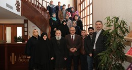 Başkan Can Şehit ailelerini ağırladı