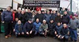 Çekmeköy esnafı terörü kınadı