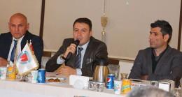 Başkan Mehmet Genç, yönetimiyle ilk yarıyı değerlendirdi
