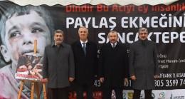 Başkan Erdem, Halep'e yardım çadırını ziyaret etti