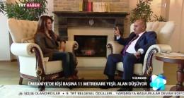 Başkan Can, TRT Haber'de