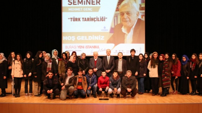 Mehmet Genç, Sancaktepeli gençlerle Türk ve Osmanlı Tarihini anlattı