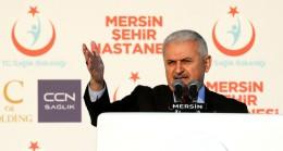 """Başbakan Yıldırım, """"Herkes gider Mersin'e bunlar gider tersine"""""""