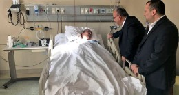 Başkan Can, 15 Temmuz Gazisi Mehmet Yaman'ı ziyaret etti